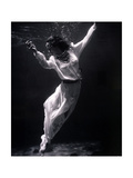 Fashion Model Underwater, 1939 Photographic Print by  Science Source