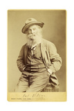 Walt Whitman by Mathew Brady, 1870 Giclee Print by  Science Source