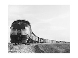 Historic Freight Train Photographic Print by  Science Source