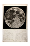 Moon Surface by John Russell, for Herschel, 1806 Giclee Print by  Science Source