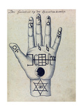 Cabbalistic Signs and Sigils, 18th Century Giclee Print by  Science Source