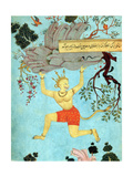 Hanuman, Hindu Monkey God Giclee Print by  Science Source