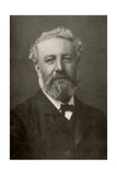 Jules Verne, French Author Photographic Print by  Science Source