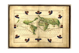 Magellan's Route, 16th Century Giclee Print by  Science Source