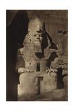 Abu Simbel Temple, 1862 Fotografisk tryk af Science Source