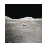 Lunar Rover and Harrison Schmitt, Apollo 17, 1972 Photographic Print by  Science Source