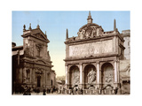 Fontana dell'Acqua Felice, 1890s Photographic Print by  Science Source