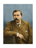 Arthur Conan Doyle, Scottish Author Giclee Print by  Science Source