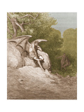 Satan, by Dore Giclee Print by  Science Source