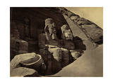 Abu Simbel Temple, 1850's Photographic Print by  Science Source