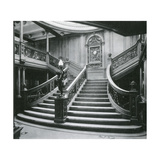 Grand Staircase of the Titanic Photographic Print by  Science Source