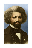 Frederick Douglass, American Abolitionist Giclee Print by  Science Source