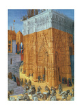 Building of the Temple of Jerusalem Giclee Print by  Science Source