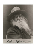 Walt Whitman, American Poet Giclee Print by  Science Source