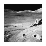 Lunar landscape, Apollo 17 Mission Photographic Print by  Science Source
