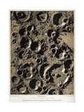 Craters on the Moon, 1863 Giclee Print by  Science Source