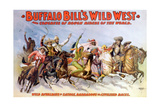 Buffalo Bill's Wild West, Rough Riders Giclee Print by  Science Source