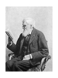 Alfred Russel Wallace, Welsh Naturalist Photographic Print by  Science Source
