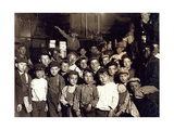 Indianapolis Newsboys, Lewis Hine, 1908 Photographic Print by  Science Source