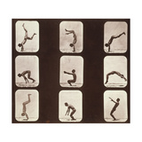 Muybridge Locomotion, Back Hand Spring, 1881 Giclee Print by  Science Source