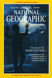 Cover of the April, 1992 National Geographic Magazine Fotografisk tryk af Annie Griffiths