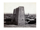 Temple of Horus at Edfu, 1850's Photographic Print by  Science Source