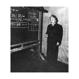 Einstein at Princeton University Photographic Print by  Science Source