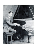 Jelly Roll Morton, American Jazz Musician Photographic Print by  Science Source