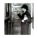 Prohibition, Speakeasy Peephole, 1930's Photographic Print by  Science Source