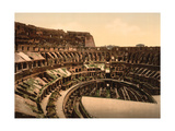 Colosseum, 1890s Photographic Print by  Science Source