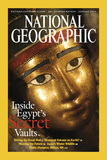 Cover of the January, 2003 National Geographic Magazine Fotografisk tryk af Kenneth Garrett