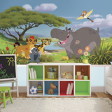 Lion Guard XL Chair Rail Prepasted Mural Wallpaper Mural