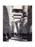 Karnak, Great Hypostyle Hall, 19th Century Photographic Print by  Science Source