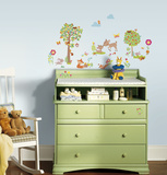 Woodland Creatures Peel and Stick Wall Decals Wall Decal