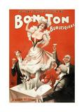 Science Source - Bon Ton Burlesquers, 1898 - Giclee Baskı