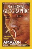 Cover of the August, 2003 National Geographic Magazine Fotografisk tryk af Nicolas Reynard