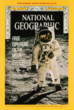 Cover of the December, 1969 National Geographic Magazine Fotografisk tryk af NASA