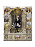 George Washington, Freemason Giclee Print by  Science Source
