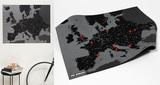 PinCountry Wall Map Diary - Europe - Black - Yeni ve İlginç