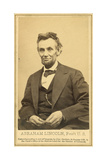 Abraham Lincoln's Last Portrait Sitting, 1865 Giclee Print by  Science Source