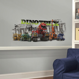 Dinotrux Peel and Stick Giant Wall Graphic Wall Decal