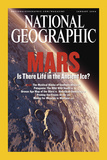 Cover of the January, 2004 Issue of National Geographic Magazine Photographic Print