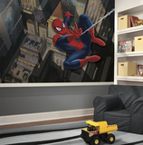 Spiderman - Ultimate Spiderman XL Chair Rail Prepasted Mural Wallpaper Mural