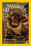 Cover of the May, 2002 Issue of National Geographic Magazine Photographic Print by Ira Block