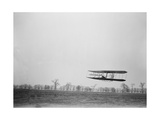 Wilbur Wright Piloting Wright Flyer II, 1904 Photographic Print by  Science Source