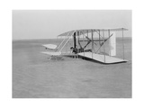 Wilbur Wright Crash Landing in Wright Flyer, 1903 Photographic Print by  Science Source