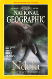 Cover of the July, 1995 National Geographic Magazine Fotografisk tryk af Michael Nichols