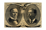 McKinley-Roosevelt Campaign Poster, 1900 Giclee Print by  Science Source