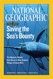 Cover of the April, 2007 National Geographic Magazine Fotografisk tryk af Brian J. Skerry
