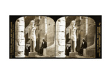 Statue of Ramses II, Luxor Temple, 1908 Giclee Print by  Science Source